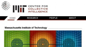Mit center of collective intelligence