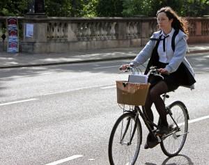 chicaciclista