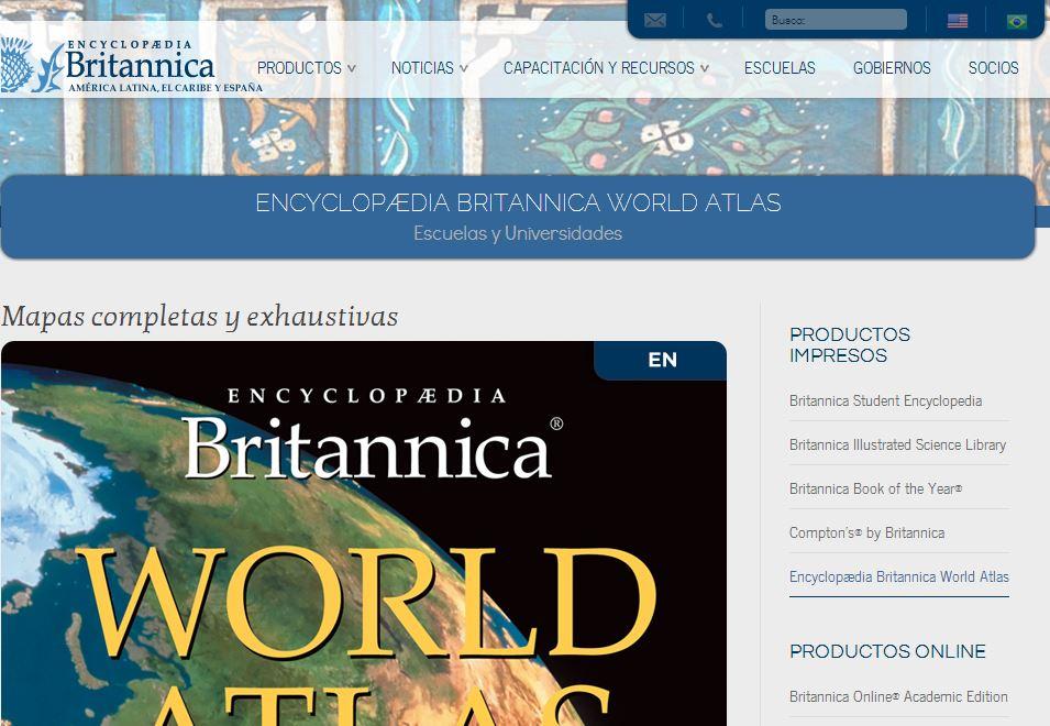Britannica Diseño y estructura