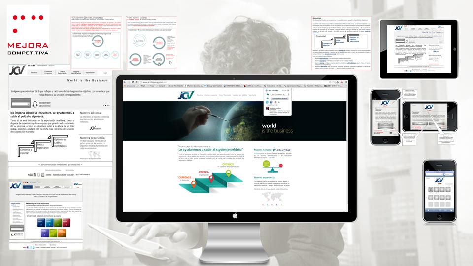 Identidad digital: ejemplo de diseño digital adaptativo (responsive web design)