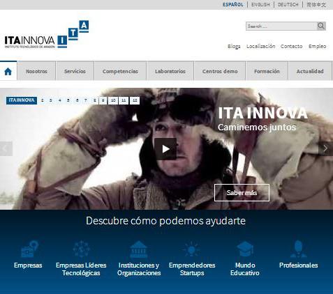 ITAINNOVA. Web