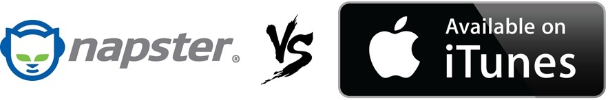 Napster vs iTunes