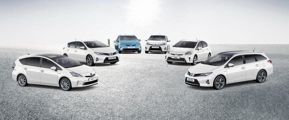 Toyota y su gama híbrida