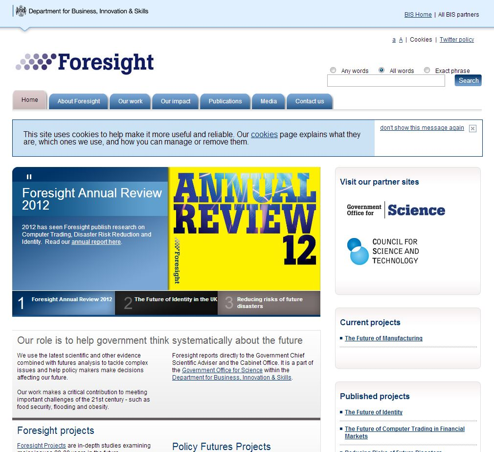 foresight UK
