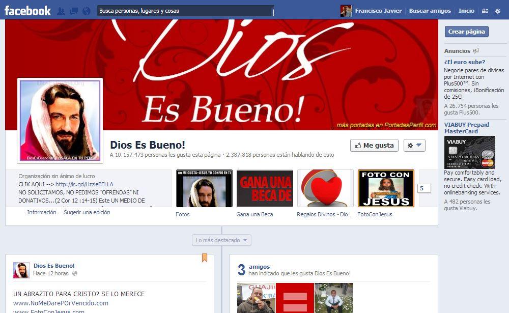 Jesus en facebook