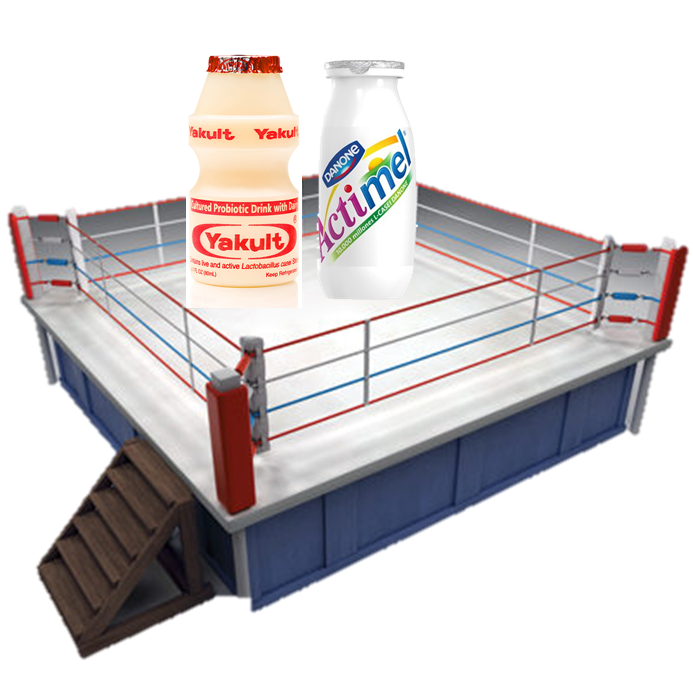 Yakult vs Actimel