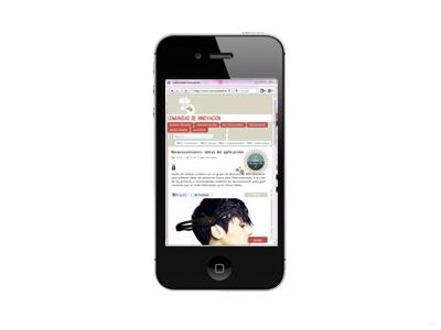 Comunidad de Innovación, mobile