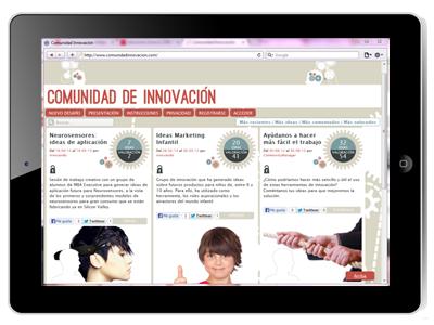 Comunidad de Innovación, board
