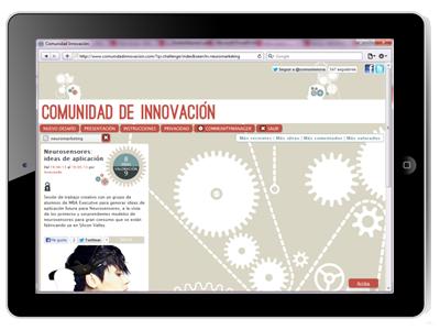 Comunidad de Innovación, etiquetaje y filtros