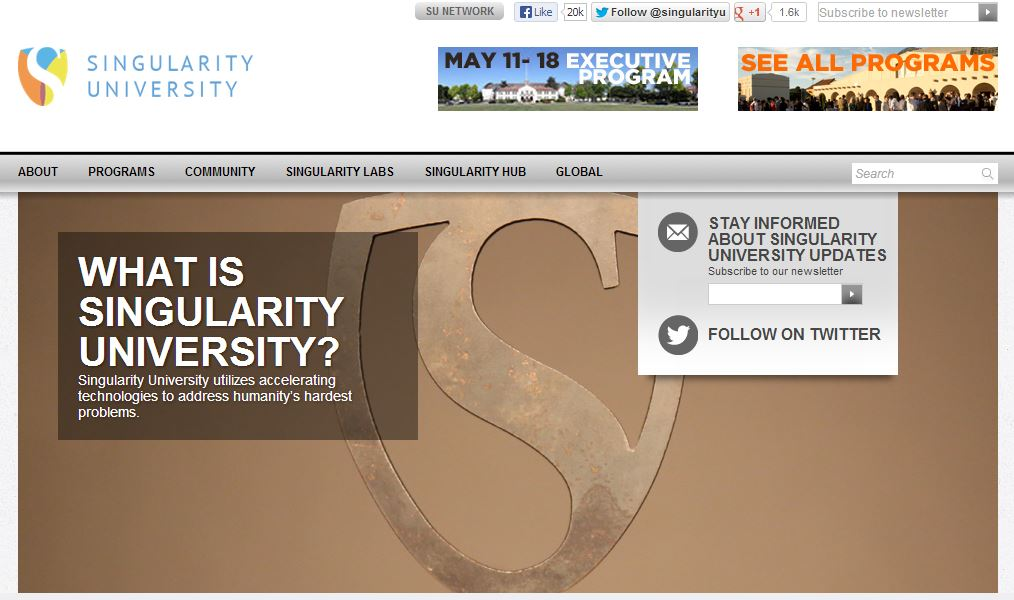 Singularity University Mission
