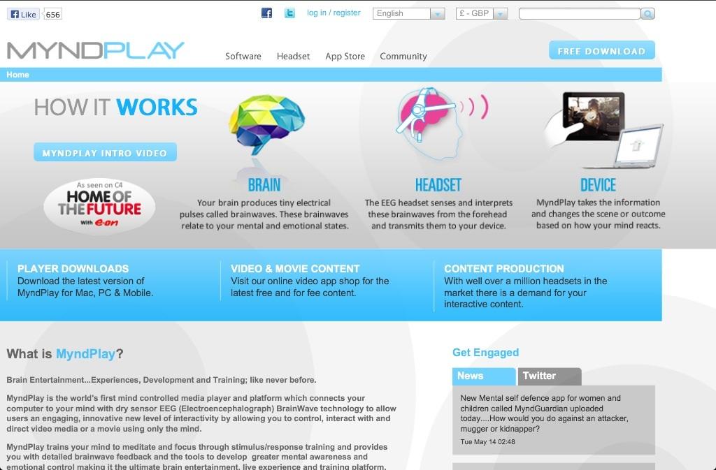 Neurosensores: Myndplay