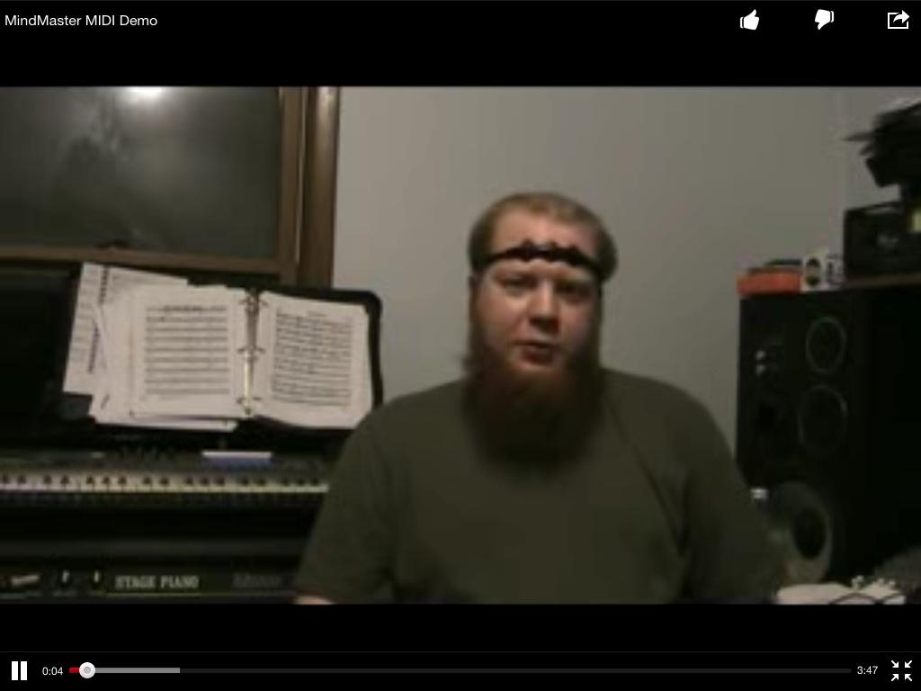 Neurosensores: música con la mente