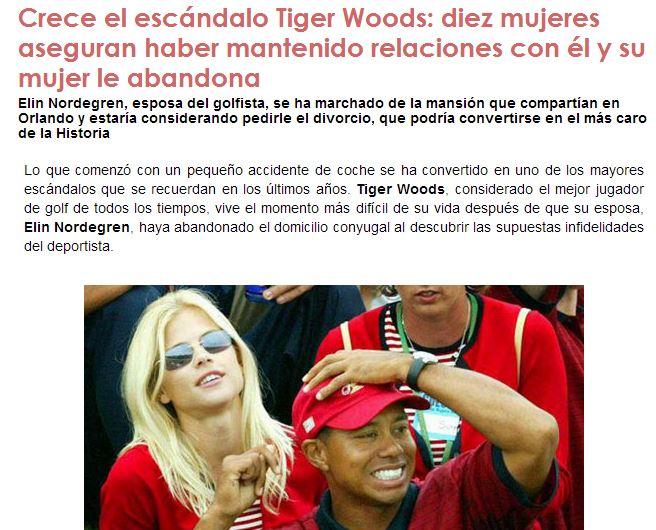 Tiger ya no es un Tiger