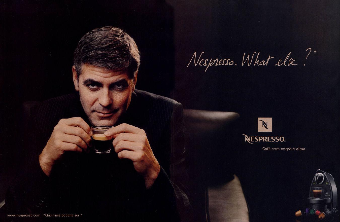 Nespresso y Clooney
