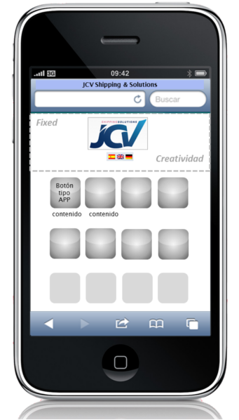 JCV Smartphone Wireframe