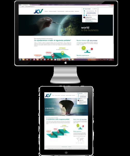 JCV Web Real Screen