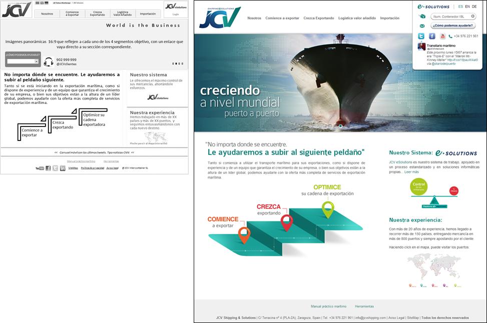 Web JCV Shipping