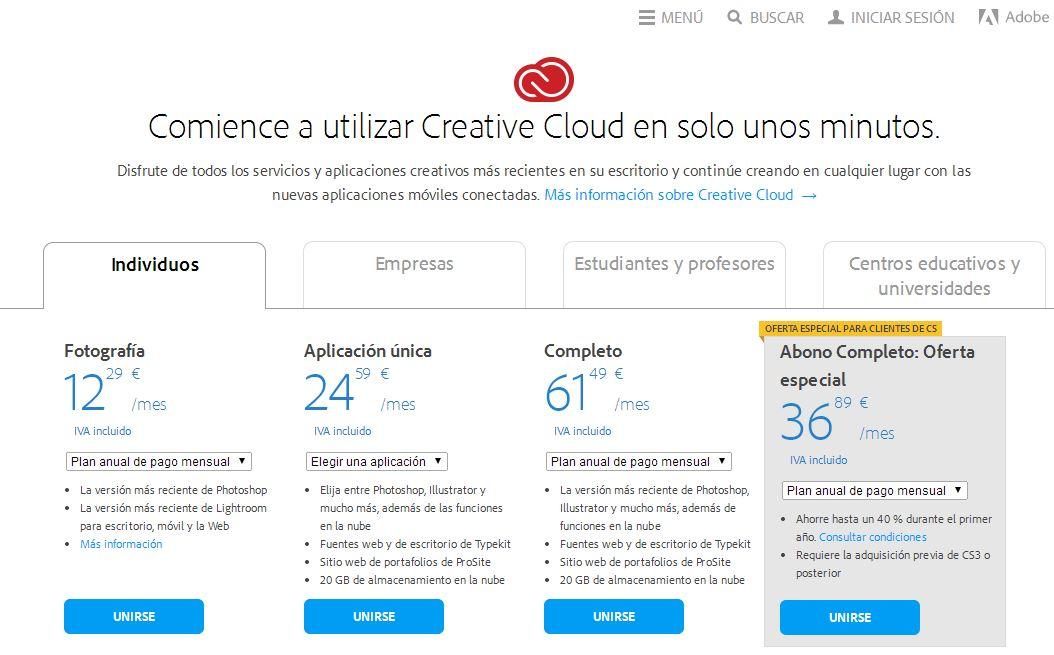 Adobe, una solución líquida
