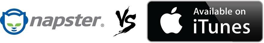 Napster vs iTunes