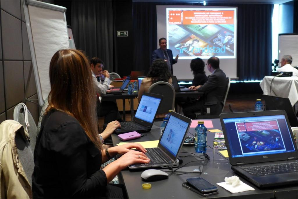 Randstad, talleres de innovación estratégica y estrategia enfocada al mercado