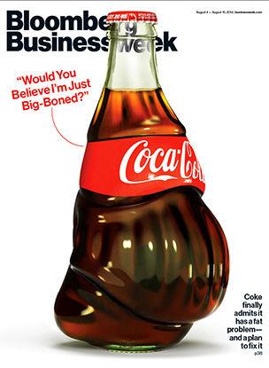 El problema de gordura de Coca-Cola
