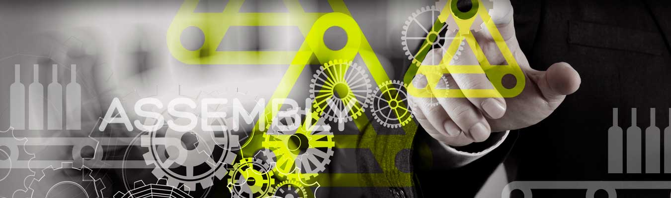 MEJORA COMPETITIVA. ASSEMBLY. Reinvención empresarial. Branding. El nuevo logotipo.
