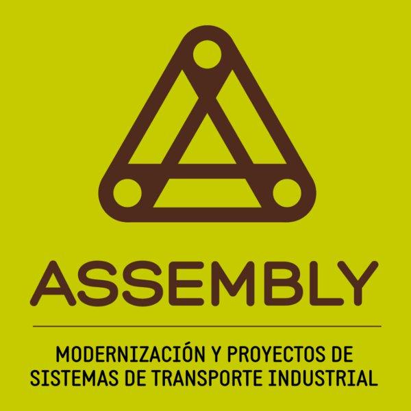 Mejora competitiva. Casos de éxito. Reinvención empresarial. Assembly. Modernización y proyectos de sistemas de transporte industrial. Logo marca