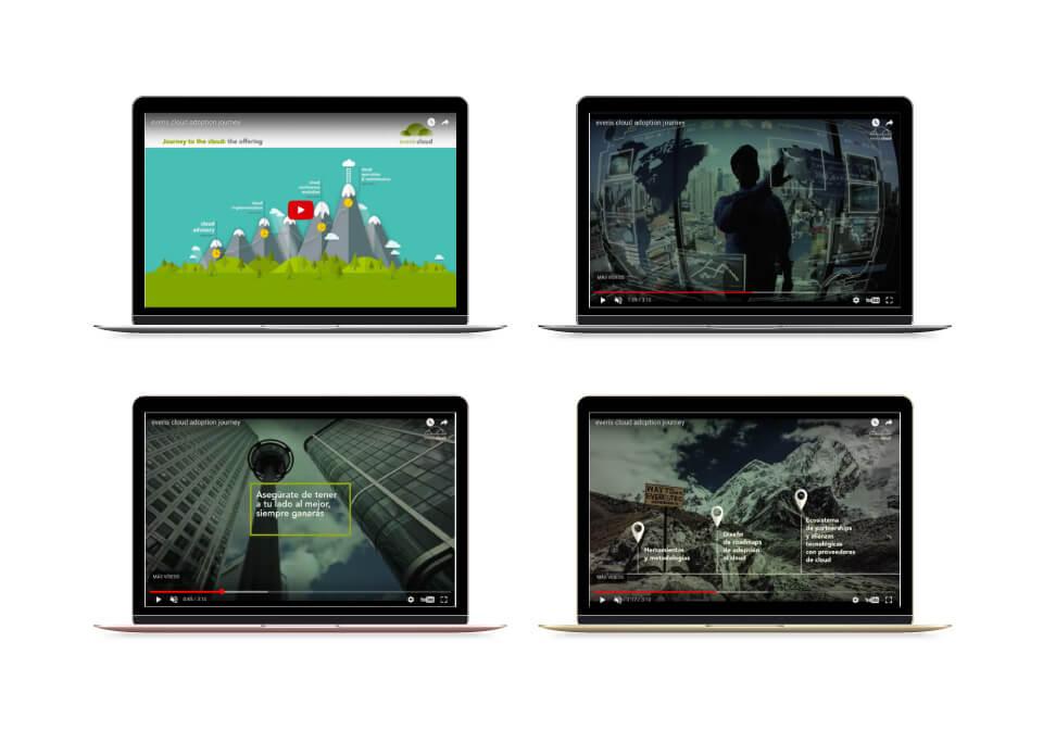 (Español) Mejora Competitiva. Agencia de comunicación digital. Vídeo comercial. everis Cloud