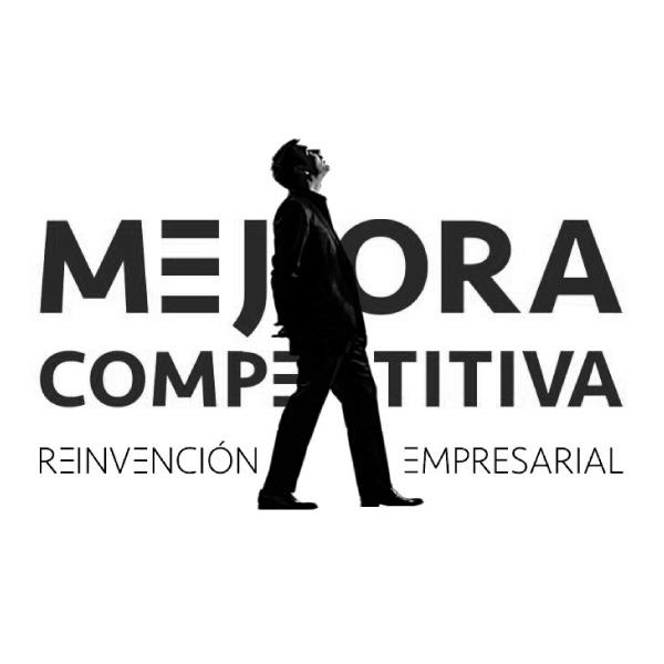 Mejora Competitiva. Branding. Nuestra Marca. Logomarca. Pensamiento estratégico. Negro. 600px
