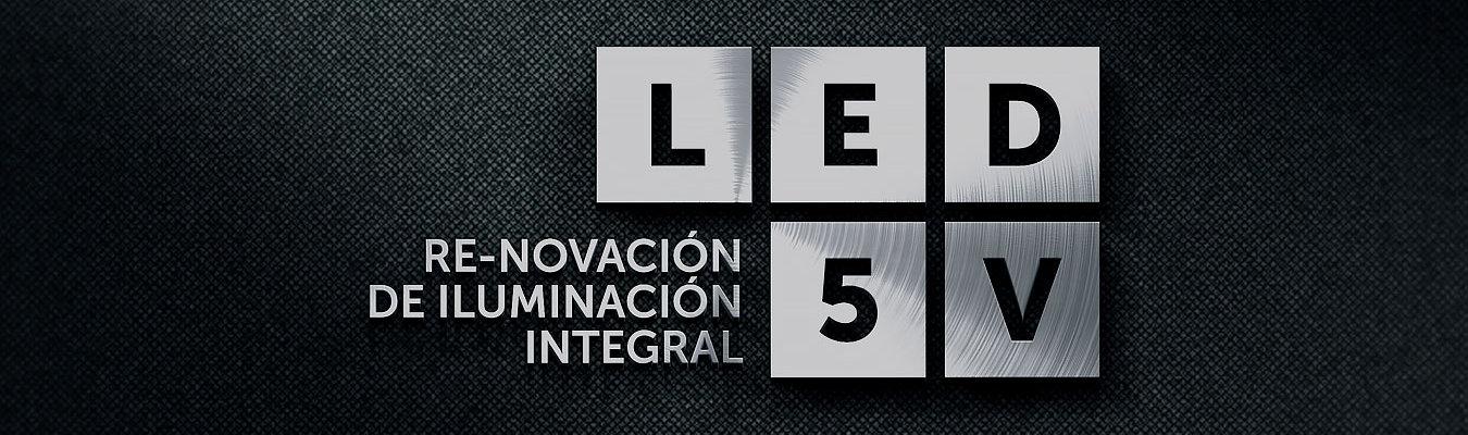 MEJORA COMPETITIVA. Casos de éxito. LED5V. Soluciones innovadoras de iluminación LED. Branding