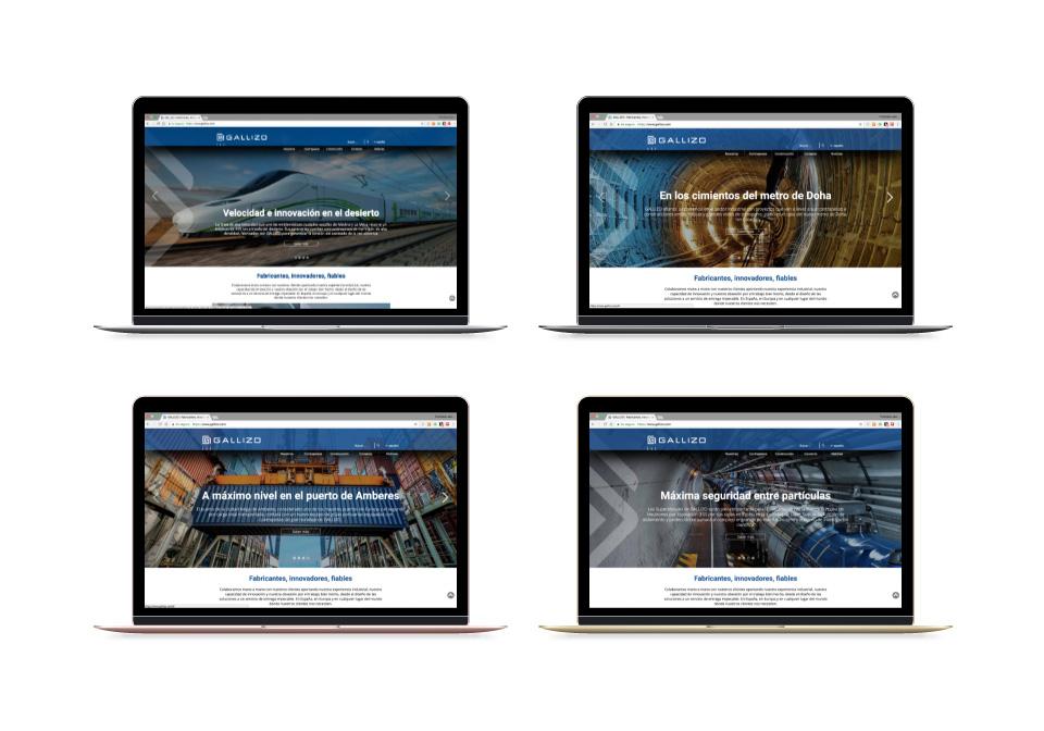 MEJORA COMPETITIVA. GALLIZO. Estrategias Go-to-market. Agencia comunicación digital. Casos de éxito. Laptop