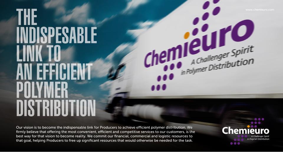 Chemieuro. Campaña creativa. The Indispensable Link